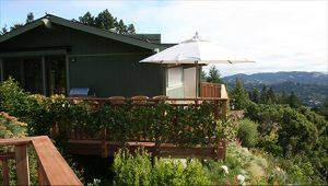 Mill Valley Hillside Overlook Deck